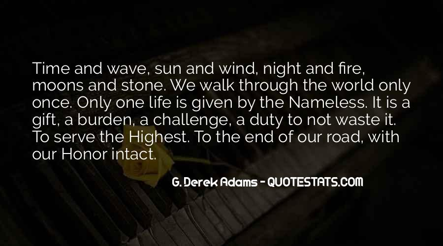 Quotes About The End Of The Road #804364