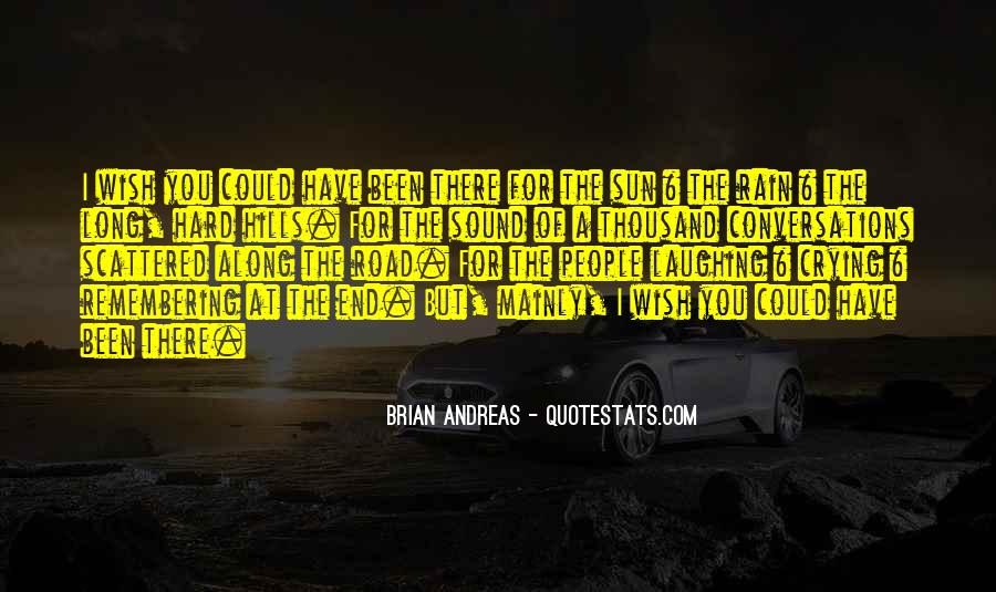 Quotes About The End Of The Road #859691