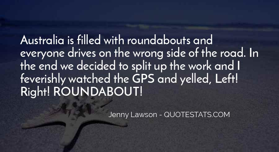 Quotes About The End Of The Road #96112