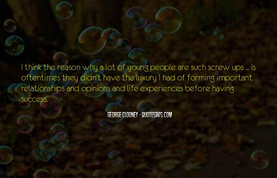Quotes About Why Life Is Important #1115579