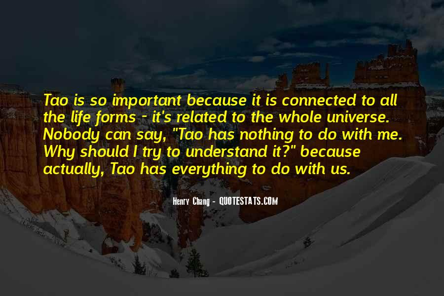 Quotes About Why Life Is Important #1172343