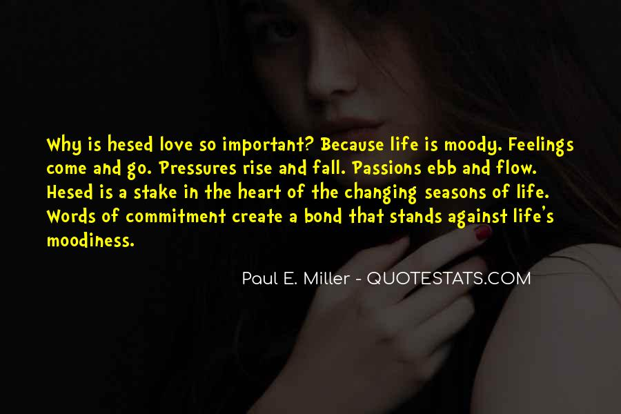 Quotes About Why Life Is Important #208101