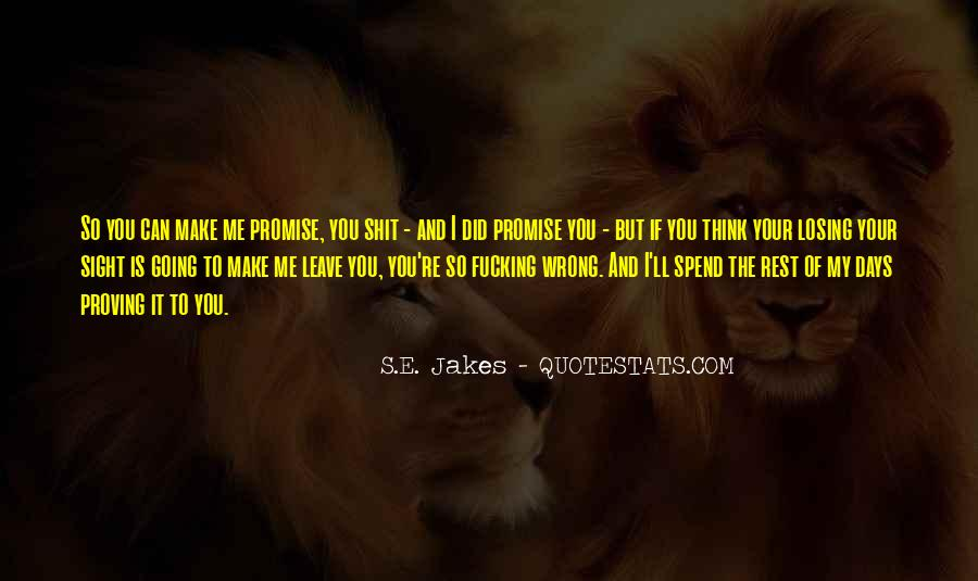 Quotes About You Did Me Wrong #1312334