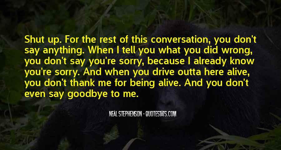 Quotes About You Did Me Wrong #1523274