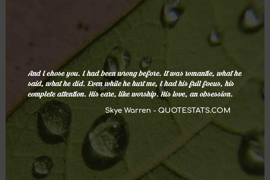 Quotes About You Did Me Wrong #445869