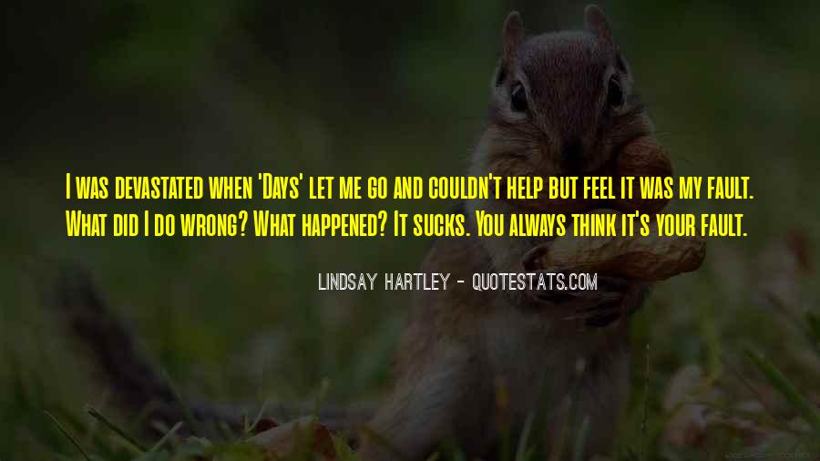 Quotes About You Did Me Wrong #755006