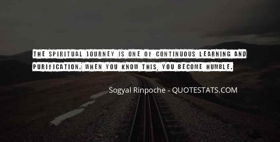Quotes About Journey And Learning #1193926