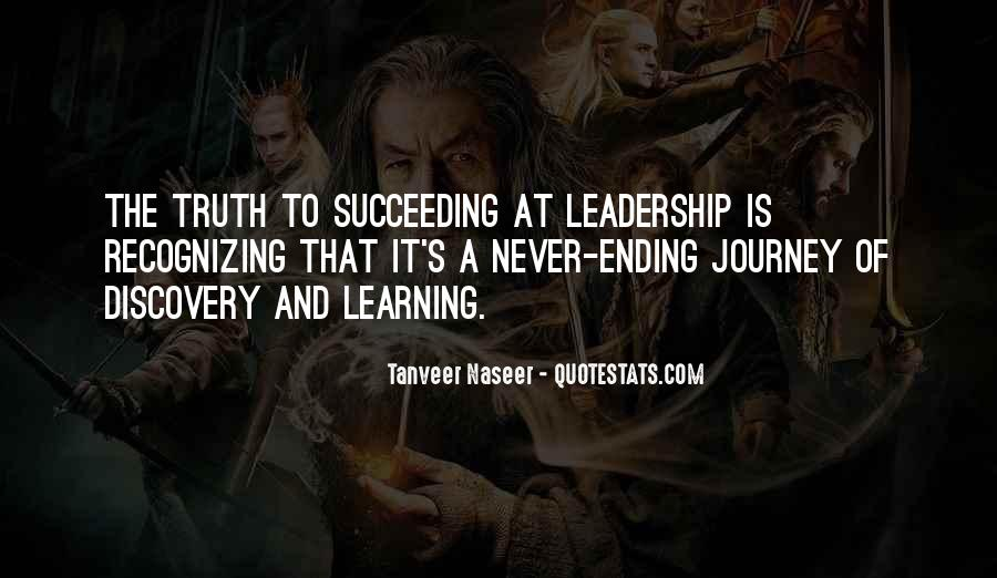 Quotes About Journey And Learning #18324