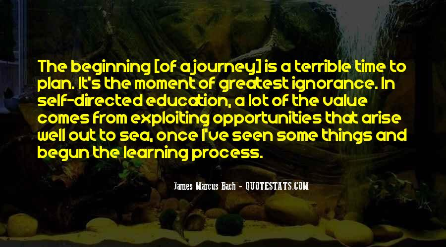 Quotes About Journey And Learning #384173