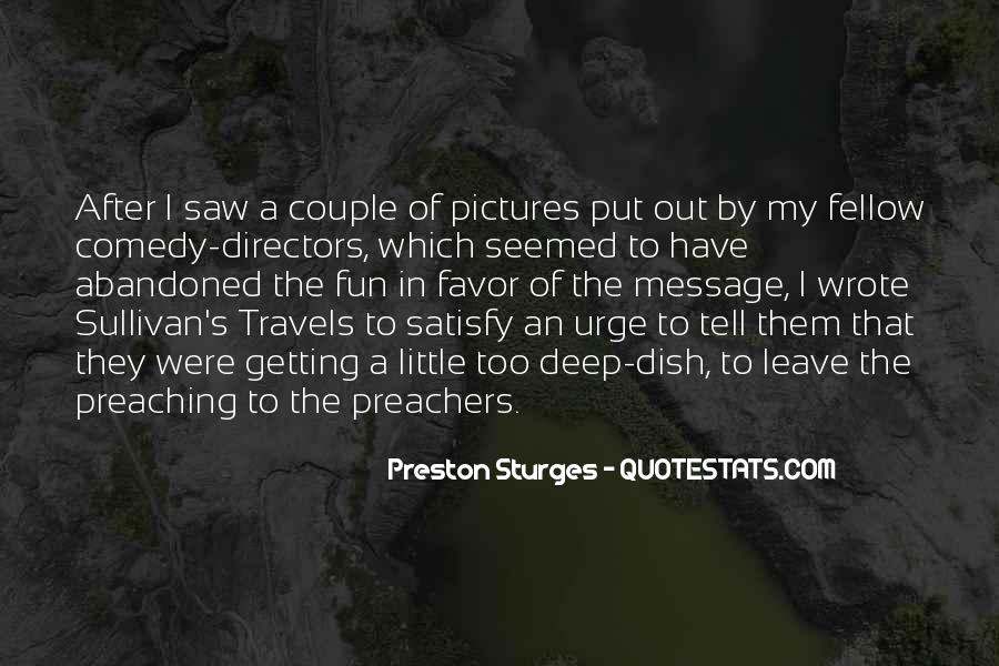 Quotes About Preachers And Preaching #14202
