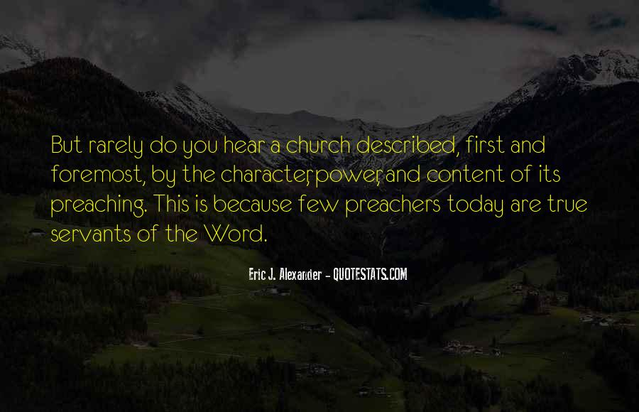 Quotes About Preachers And Preaching #1453413