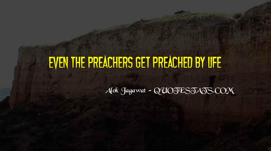 Quotes About Preachers And Preaching #1573429