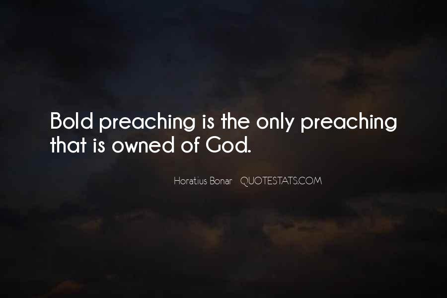 Quotes About Preachers And Preaching #537154