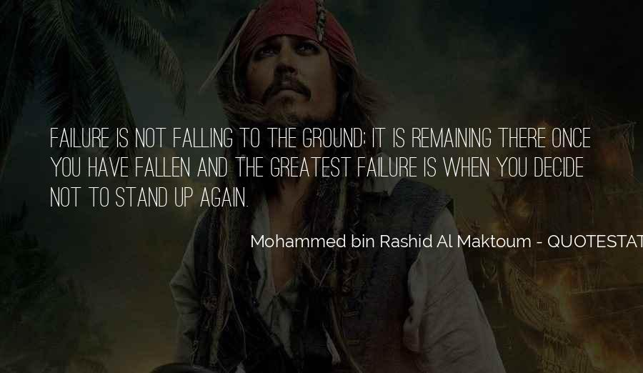 Quotes About Falling On The Ground #1765489
