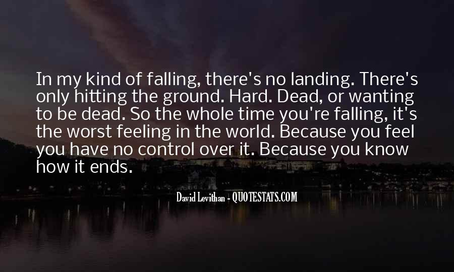 Quotes About Falling On The Ground #889117