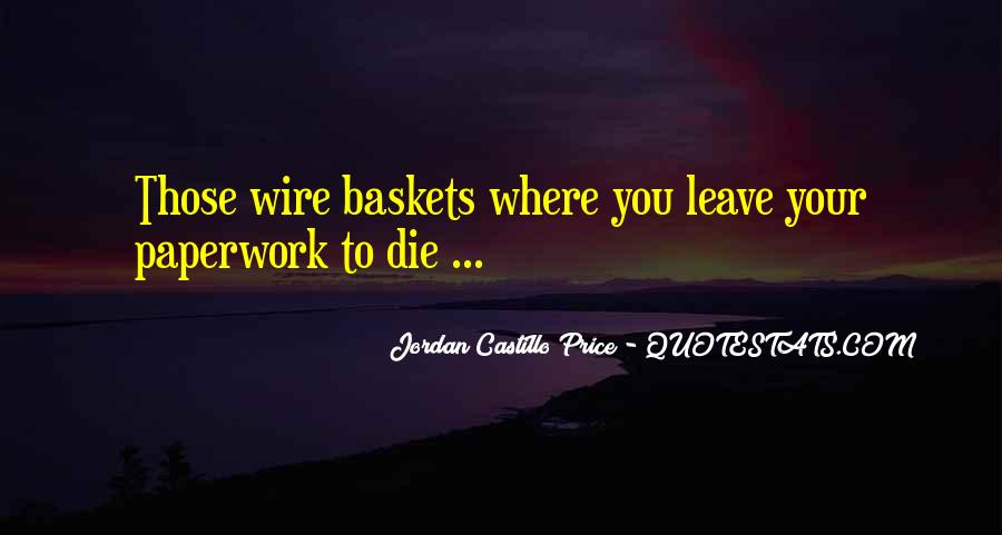 Quotes About Baskets #1432746