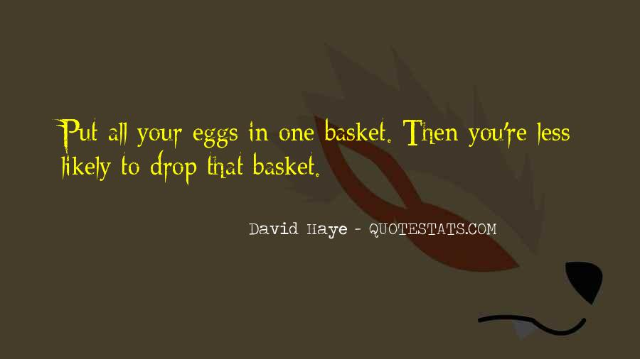 Quotes About Baskets #1767040