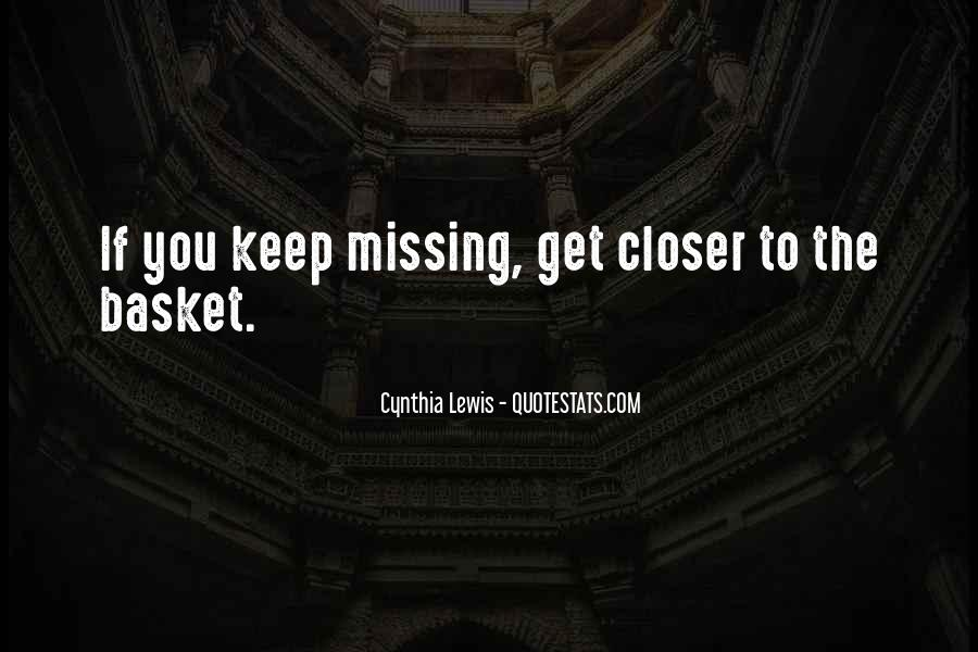 Quotes About Baskets #288367