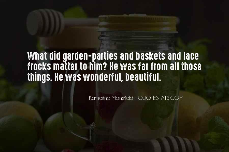 Quotes About Baskets #778811
