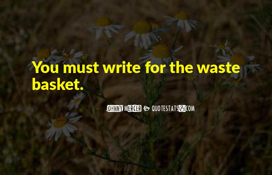 Quotes About Baskets #971368