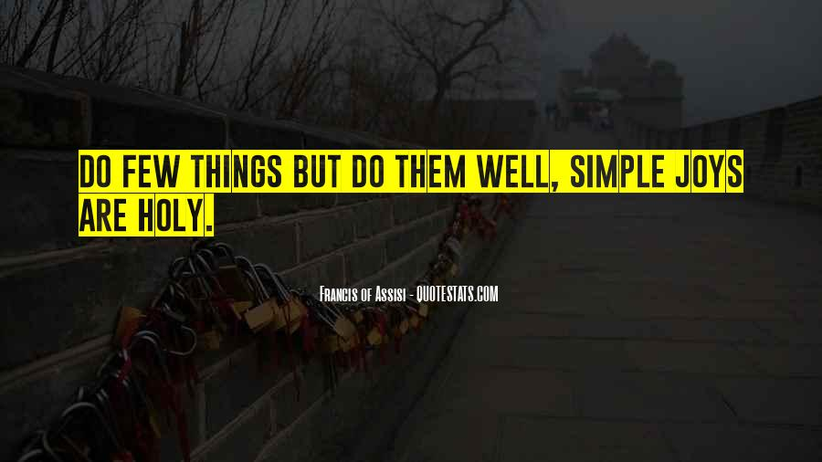 Quotes About Simple Joys #1398683