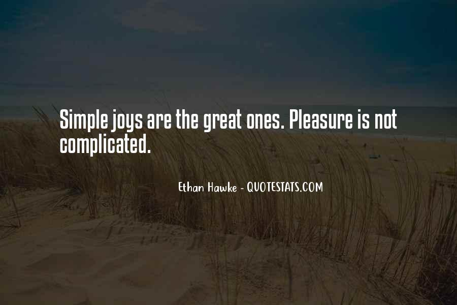 Quotes About Simple Joys #204826