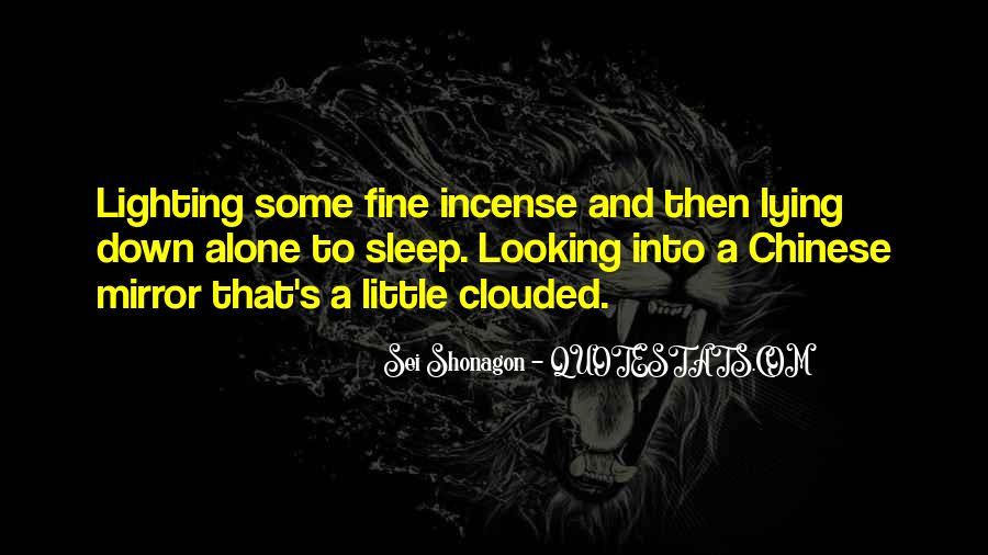 Top 38 Quotes About Going To Sleep Alone: Famous Quotes ...