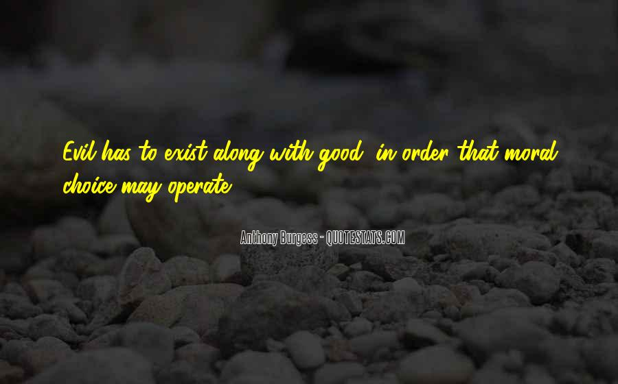 Quotes About The Choice Between Good And Evil #1256096