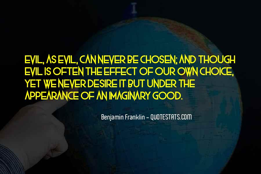 Quotes About The Choice Between Good And Evil #1800544