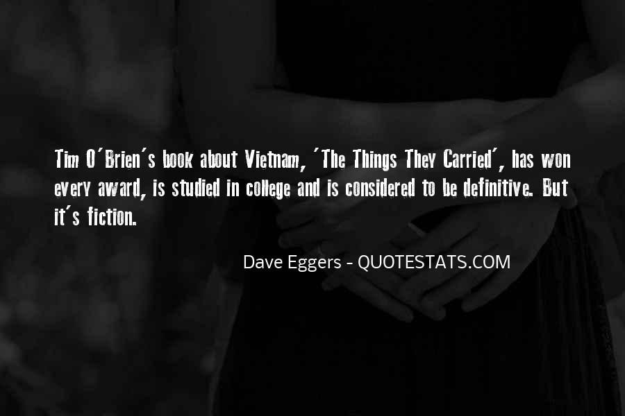 Quotes About The Things They Carried #258652