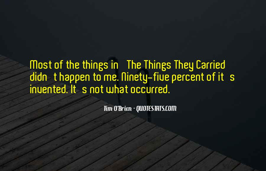 Quotes About The Things They Carried #743181