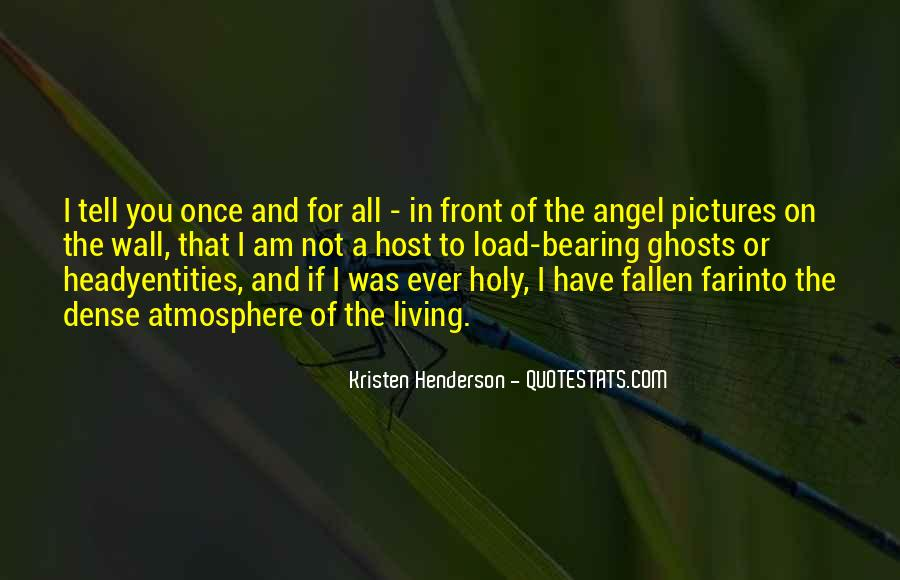 Quotes About A Fallen Angel #1193697