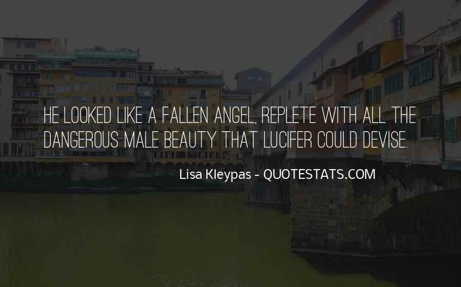 Quotes About A Fallen Angel #1609696