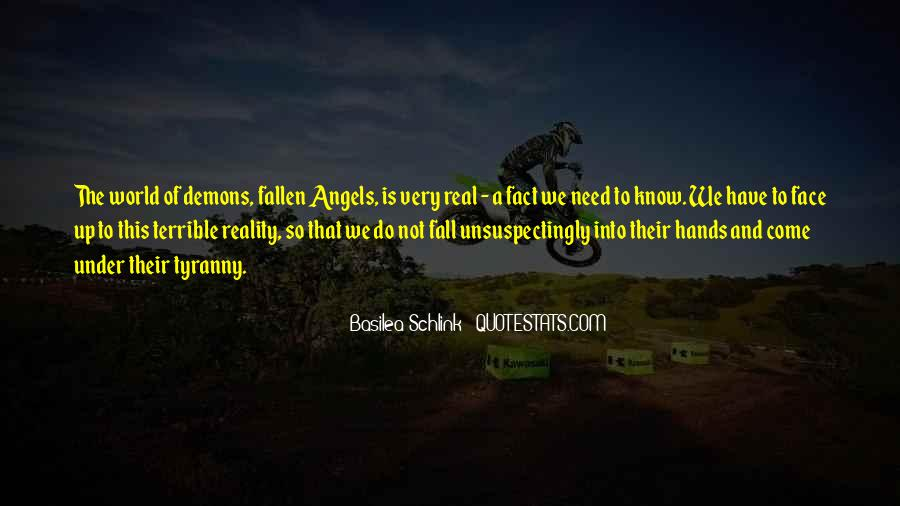 Quotes About A Fallen Angel #1638121