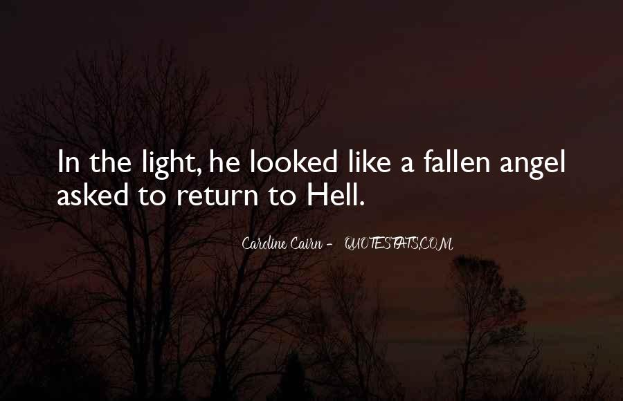 Quotes About A Fallen Angel #1736874