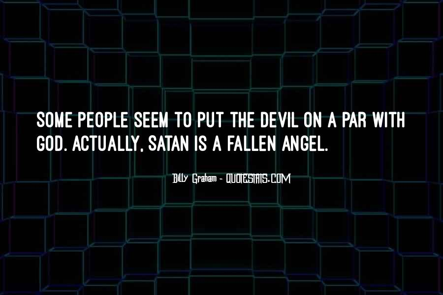 Quotes About A Fallen Angel #23982