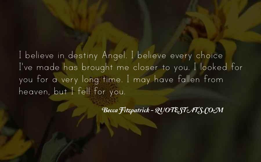 Quotes About A Fallen Angel #365768