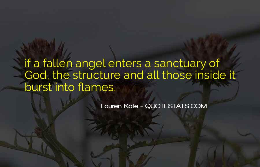 Quotes About A Fallen Angel #576417