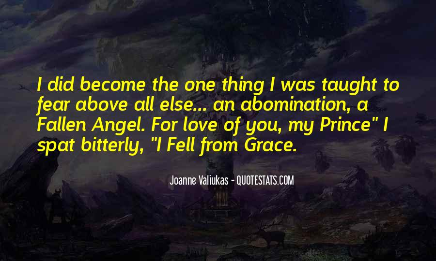 Quotes About A Fallen Angel #745749