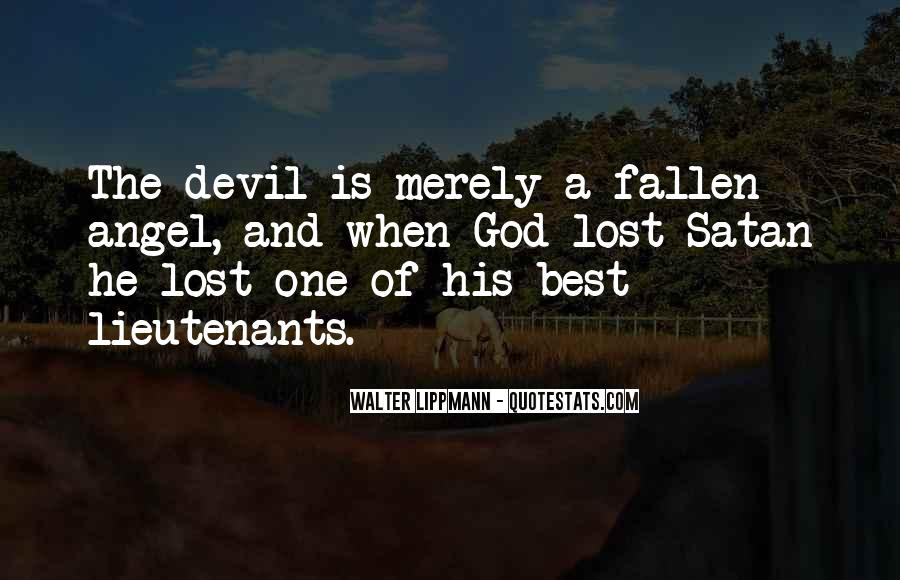 Quotes About A Fallen Angel #808516