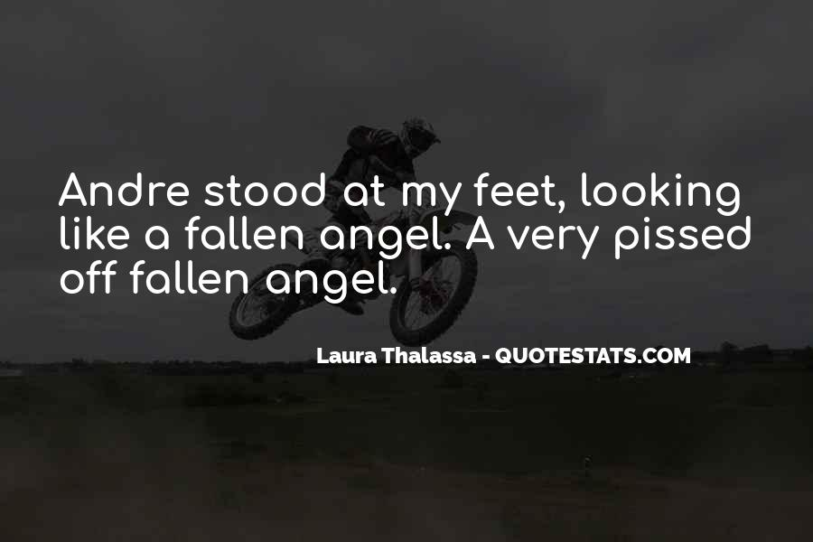 Quotes About A Fallen Angel #858876