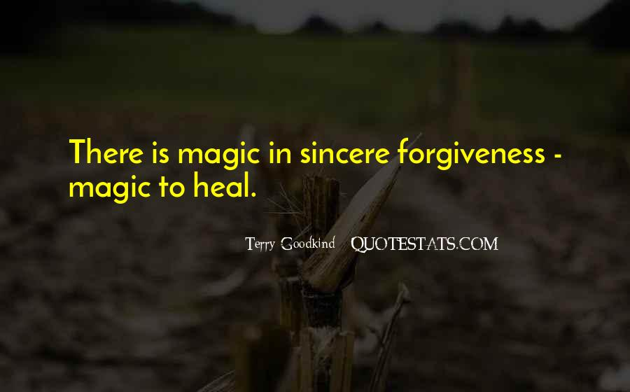 Quotes About Sincere Forgiveness #26649