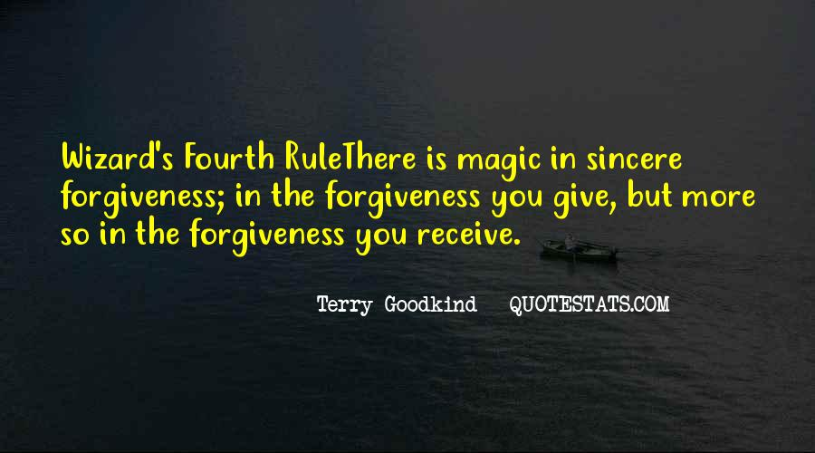 Quotes About Sincere Forgiveness #972521