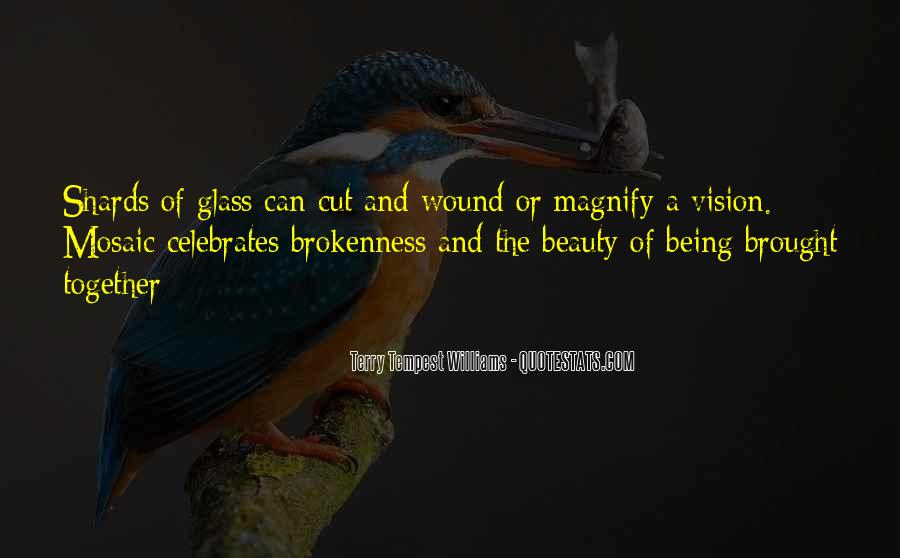 Quotes About Shards Of Glass #1482466