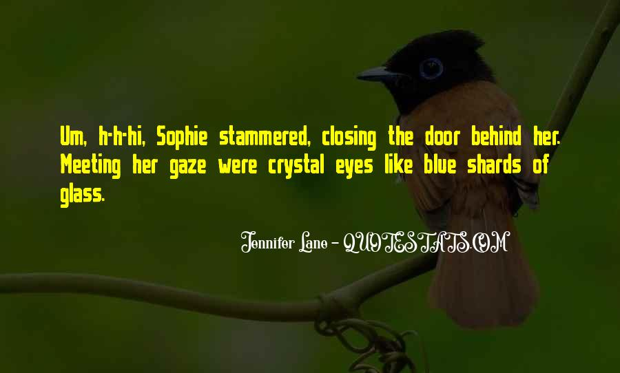 Quotes About Shards Of Glass #1675640