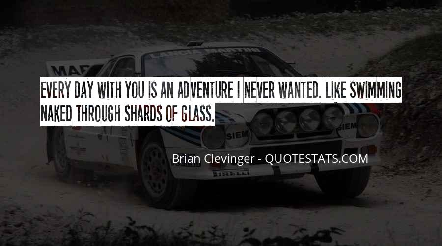 Quotes About Shards Of Glass #1814633