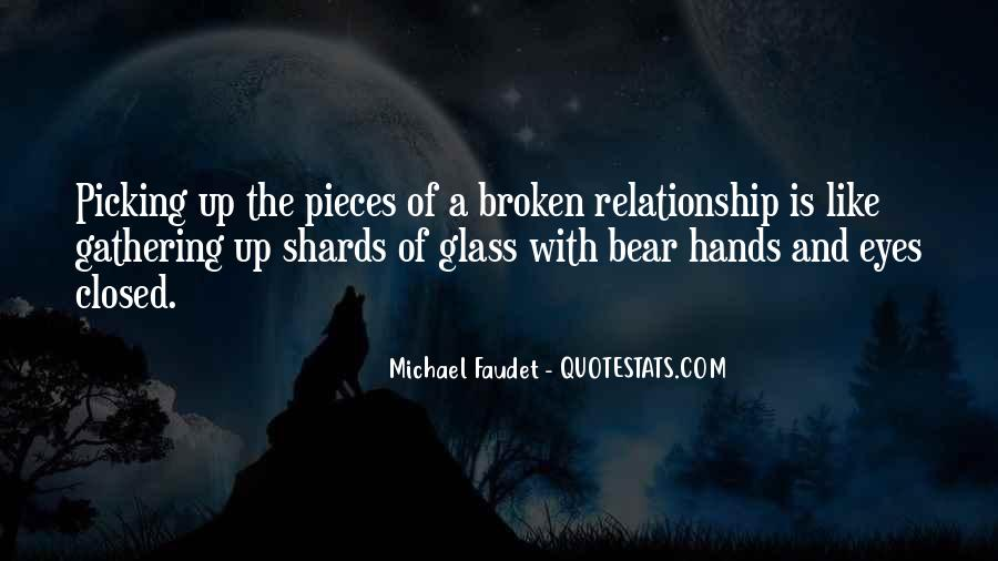Quotes About Shards Of Glass #941141