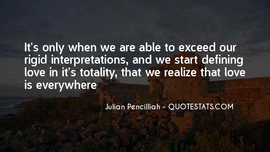 Quotes About Interpretations #101040