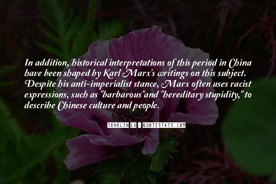 Quotes About Interpretations #1055058
