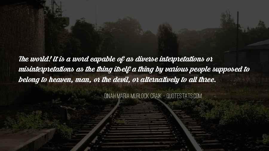 Quotes About Interpretations #1070066